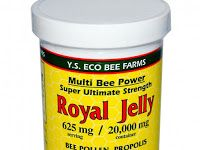 Y.S. Eco Bee Farms, Royal Jelly, 11.5 oz (326 g) غذاء ملكات النحل