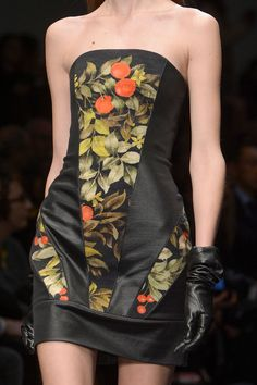 Leonard Fall 2013 - Details [like panels cut from a medieval painting]