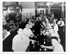 Acme Oyster House in New Orleans - just sit at the bar and get some big sweet oysters shucked for you and enjoy.