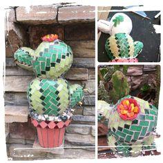 kactus 3D en telgopor 1;2;3Mosaico!