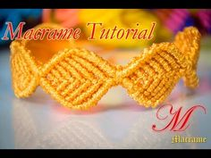 How to make macrame Leaf Bracelet style design tutorial wall hanging pat. Macrame Bracelet Patterns, Macrame Necklace, Friendship Bracelet Patterns, Macrame Jewelry, Macrame Bracelets, Friendship Bracelets, Wie Macht Man, Micro Macramé, Macrame Projects