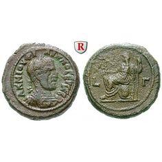 Römische Provinzialprägungen, Ägypten, Alexandria, Philippus I., Tetradrachme Jahr 3 = 245/246, ss+: Ägypten, Alexandria.… #coins