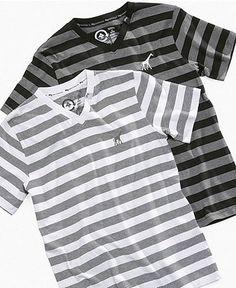 LRG Kids T-Shirt, Little Boys Striped V-Neck Tees - Kids Boys 2-7 - Macy's - Size 2T