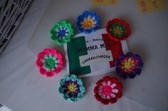 Cadeau mand paps en mams #haken #bloemen #crochet #watdoetvanessanu #zelfmaken
