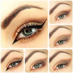 Look your best everyday with this simple, 5-step pictorial and tutorial, and get the perfect combination of a fierce cat eye with soft shades of brown eye shadow.
