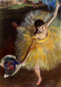 Abschluss der Arabeske oder grüssende Tänzerin (1877)