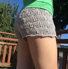 2015 The Crochet Awards Judges' Nomination - Best Beachwear - Short Shorts pattern by Lora M