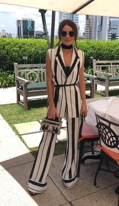 CALÇA CREPE LISTRADA - CAL24185-95   Skazi, Moda feminina, roupa casual, vestidos, saias, mulher moderna