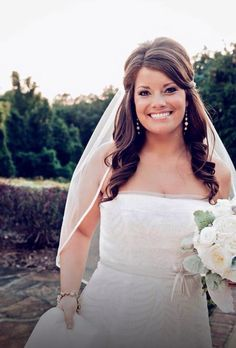 Bridal hair. Hair By: Krystie from The Loft Salon