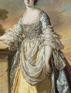 Portrait of Lady Baynton by Francis Cotes, 1768