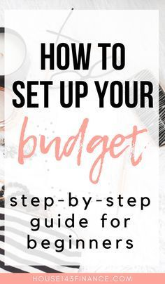 How to Set up a Budget: A Guide for Beginners + Free budget printable! - Advice From Ashley - Finance tips, saving money, budgeting planner Making A Budget, Create A Budget, Making Ideas, Budget Help, Tight Budget, Planning Budget, Budget Planner, Budget Binder, Dave Ramsey