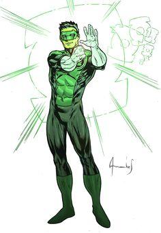 Kyle Rayner Green Lantern by UltimateRubberFool