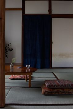 Japanese room -washitsu- I totally love this space!!