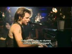 Bon Jovi - Bed of roses (cama de rosas) - unplugged hd