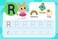 Letter T Worksheets, Kids Learning, Vector Free, Rainbow, English, Templates, Lettering, Paper, Rain Bow