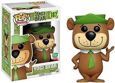 Animation - Yogi as a stylized POP vinyl from Funko! Figure stands 3 inches and comes in a window display box. Collect them all! Hanna Barbera, Pop Vinyl Figures, Funko Pop Figures, Legos, Funko Pop Dolls, Funko Toys, Pop Figurine, Funk Pop, Pop Toys