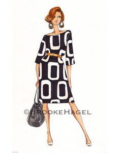 Miranda Hobbs- Fashion Illustration Print