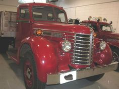 Vintage Diamond Rio red Firetruck