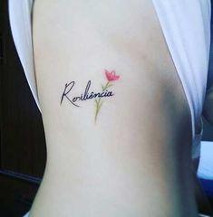 16 Ideas Tattoo Femininas Delicada Resiliencia For 2019 Mini Tattoos, Trendy Tattoos, New Tattoos, Body Art Tattoos, Tatoos, Small Tattoos With Meaning, Small Wrist Tattoos, Tattoos For Women Small, Sleeve Tattoos For Women