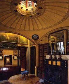 Breakfast Room at No. 13, Lincoln's Inn Fields, 1812–1813; London, England; Sir John Soane. English Regency.