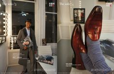 Tyron M. Cutner, Men's Fashion Editor, at the STC magazine New York City's offices.