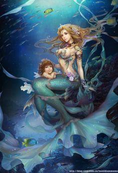 30 Mind Blowing Examples of Mermaid Art | Cuded