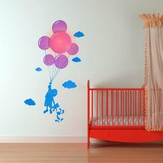 Lampe et Stickers Enfant et Ballons. Kas Design, Distributeurs de produits originaux.