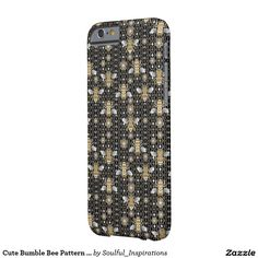 Cute Bumble Bee Pattern IPHONE 6 CASE