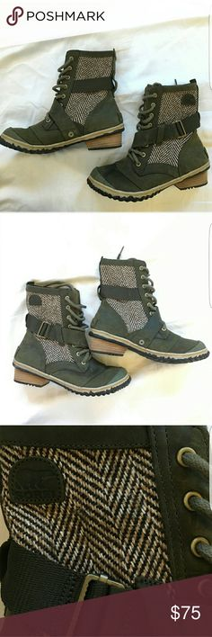 Sorel Major Carly Boot Perfect condition! Sorel Shoes Winter & Rain Boots