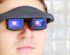 (2012) The Fraunhofer Glasses have taken eyewear technology to the next level. raunhofer Glasses doesn't simply absorb information passively unless directed by an accompanying joystick. Instead, it is equipped with eye-tracking technology that allows people to truly record and communicate handsfree.