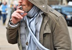 grey on grey on grey ny fashion week - tommy ton for gq