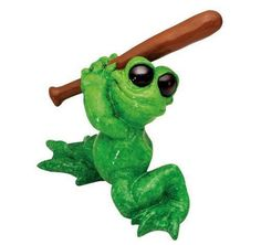 KITTY'S CRITTERS Homer Baseball Playing Frog NEW NIB