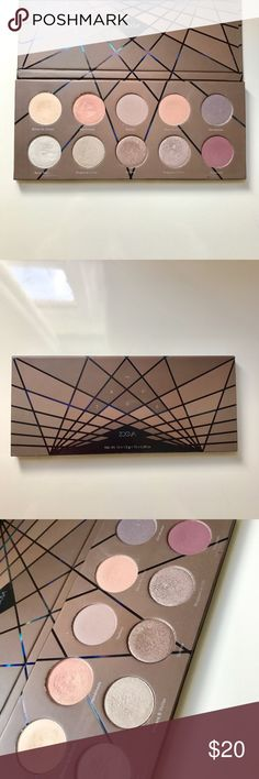 Zoeva En Taupe Palette Beautiful cool toned eyeshadow palette from Zoeva. Used only a few times and in great condition. All makeup is sanitized. zoeva Makeup Eyeshadow
