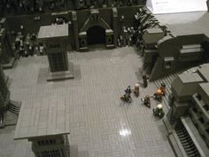 "The Mines of Moria: The Hall of Pillars by Lee Jones - Journey of the Fellowship 2011 - ""Best Group Layout Brickworld 2011"""