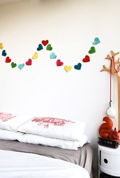 Heart Felt Garland by Little Lamb