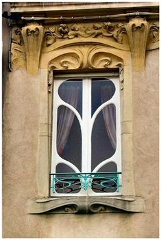 ART NOUVEAU LUNEVILLE | This looks very organic...I can imagine a fairy lives here.