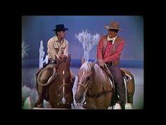 Dean Martin & John Wayne on horse - YouTube