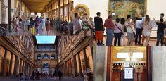 Sandro Botticelli fue probablemente el artista más ligado a la Corte de Medici, especialmente a la figura de Lorenzo el Magnífico para quien realizó muchas obras. El Nacimiento de la Venus, fue pintado entre 1482 y 1485, y es sin duda una de las obras de arte más famosas y queridas del mundo convirtiéndose en un símbolo de la pintura italiana de los años 400.   #El Nacimiento de la Venus #FLorencia #Galería de los Uffizi