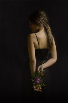 La Fille aux Fleurs by ShelbiNikol