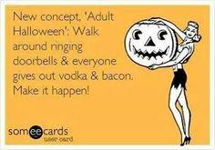 Vodka & Bacon... Make it happen!