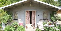Kate Forman fabrics, summerhouse