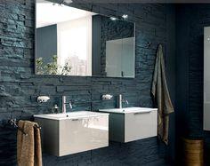 Vasque à encastrer PANAREA Inda. Sur meuble avec un seul tiroir, hauteur 24 cm. Meuble gamme Gulliver Uno. Site Inda (malheureusement en Flash) : http://www.inda.net/v1/public/?set_lingua=FR Estimation : 864 € TTC (hors robinetterie). Dimensions : 61 x 45 cm