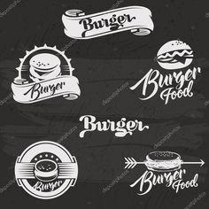 Resultado de imagem para logo hamburguer
