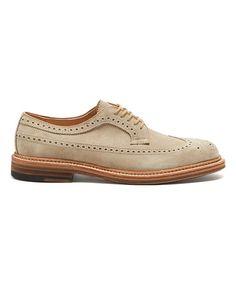 Exclusive Suede Alden Longwing Blucher in Milkshake Formal Shoes, Casual Shoes, Men's Shoes, Dress Shoes, Milkshake, Leather Shoes, Fashion Shoes, Oxford Shoes, Footwear