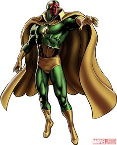 The Vision Marvel Comics | Vision - Robot Supremacy Wiki