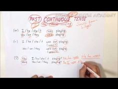 Past Continuous Tense Pasado Simple, Simple Past Tense, English For Beginners, Thing 1, Art Activities For Kids, Fifth Grade, Anchor Charts, Perfect Tenses, Middle School