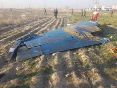 Crash: UIA at Tehran on Jan lost height after departure, aircraft shot down by Iran's armed forces German News, Aircraft Parts, Civil Aviation, Tehran, Black Box, Armed Forces, The Neighbourhood, Islam, Shots