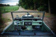 Land Rover Series IIa Bugeye by bruno de regge