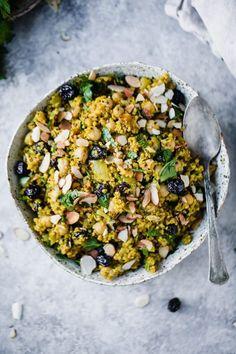 One Pot Moroccan Chickpea Quinoa Salad | Ambitious Kitchen