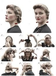 1940's hairstyles tutorials - Google Search